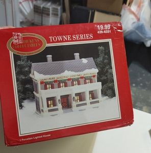 Dickens Collectibles Towne Series Holiday House